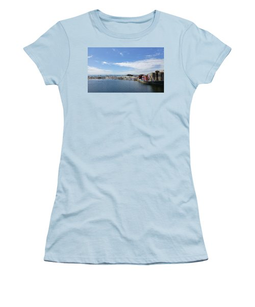 Summers End Capitola Beach Women's T-Shirt (Junior Cut) by Amelia Racca