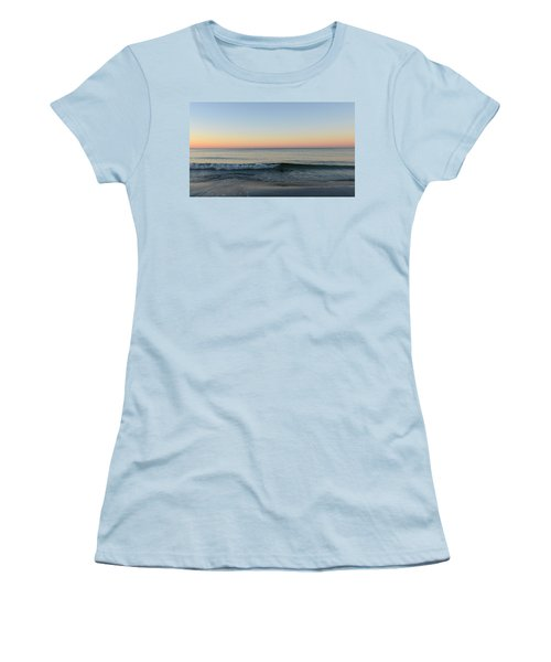 Women's T-Shirt (Junior Cut) featuring the photograph Sunrise On Alys Beach by Julia Wilcox
