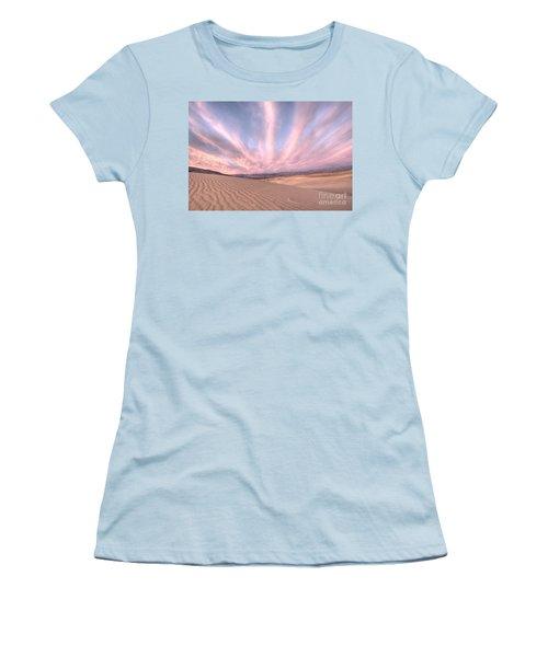Sunrise Over Sand Dunes Women's T-Shirt (Junior Cut) by Juli Scalzi