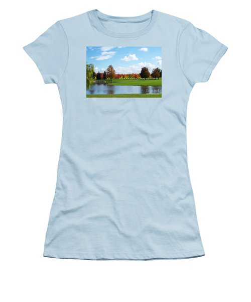 Sunshine On A Country Estate Women's T-Shirt (Athletic Fit)