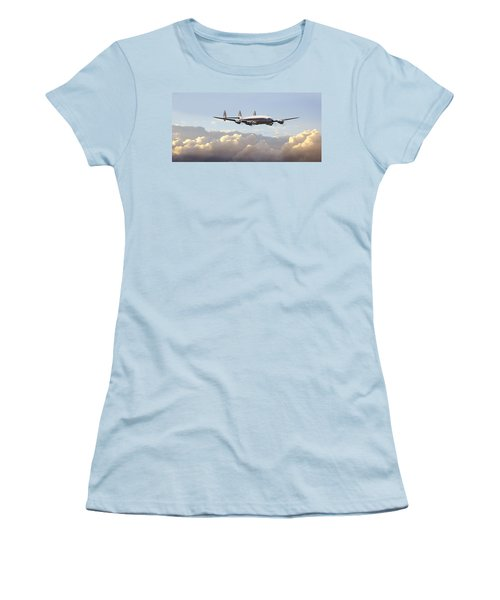 Super Constellation - End Of An Era Women's T-Shirt (Athletic Fit)