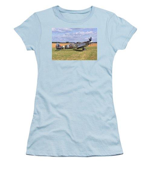 Supermarine Spitfire T9 Women's T-Shirt (Junior Cut) by Paul Gulliver