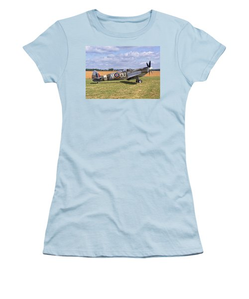 Supermarine Spitfire T9 Women's T-Shirt (Athletic Fit)