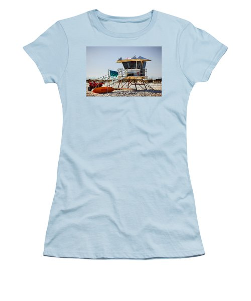 Surf Rescue Women's T-Shirt (Athletic Fit)
