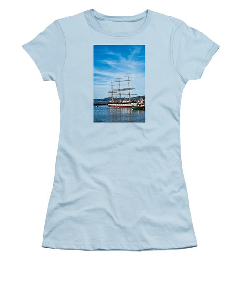Tall Ship Balclutha San Francisco Women's T-Shirt (Athletic Fit)