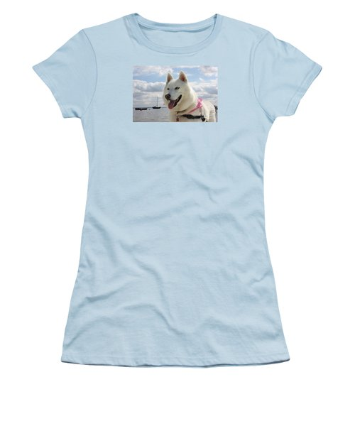 Tehya Women's T-Shirt (Junior Cut) by Vicki Spindler