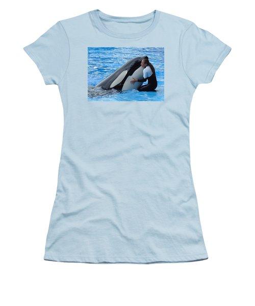 Women's T-Shirt (Junior Cut) featuring the photograph Tender by David Nicholls