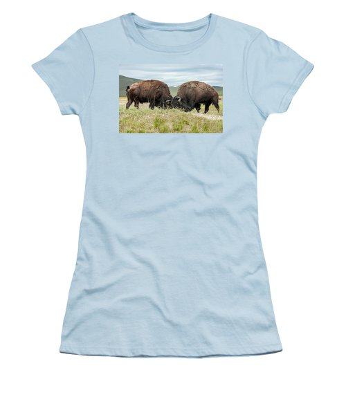 Women's T-Shirt (Junior Cut) featuring the photograph Test Of Strength by Jack Bell