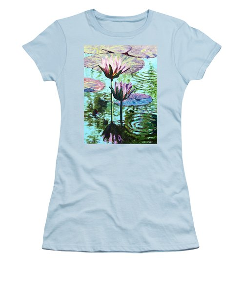 The Beauty Of The Lilies Women's T-Shirt (Junior Cut) by John Lautermilch