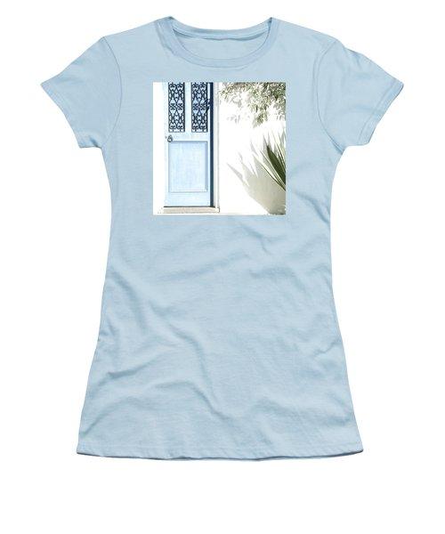 The Blue Door Women's T-Shirt (Junior Cut) by Holly Kempe