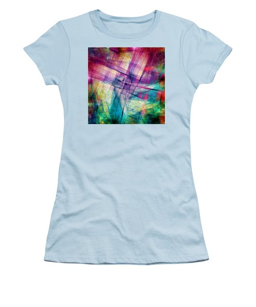The Building Blocks Women's T-Shirt (Athletic Fit)