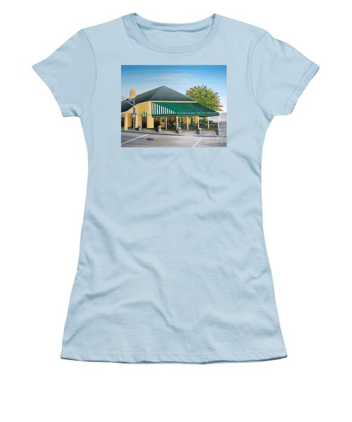 The Cafe Women's T-Shirt (Athletic Fit)