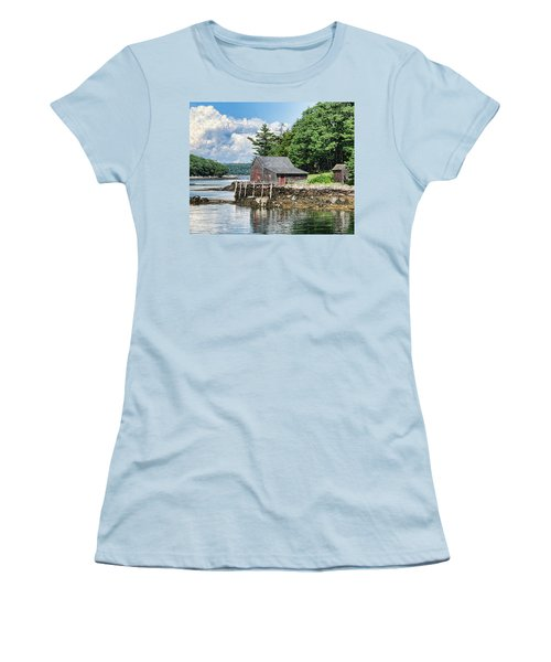 The Hideaway Women's T-Shirt (Athletic Fit)
