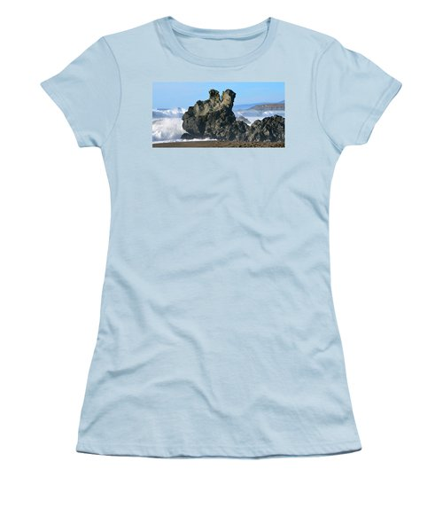 The Kissing Rocks Women's T-Shirt (Athletic Fit)