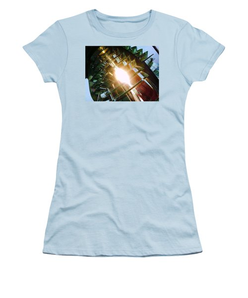 Women's T-Shirt (Junior Cut) featuring the photograph The Light by Daniel Thompson