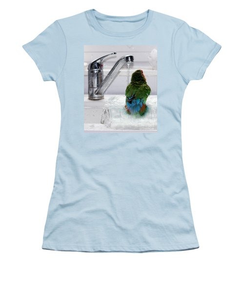 The Lovebird's Shower Women's T-Shirt (Athletic Fit)