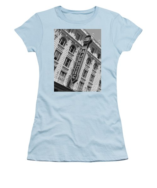 The Majestic Theater Dallas #3 Women's T-Shirt (Athletic Fit)