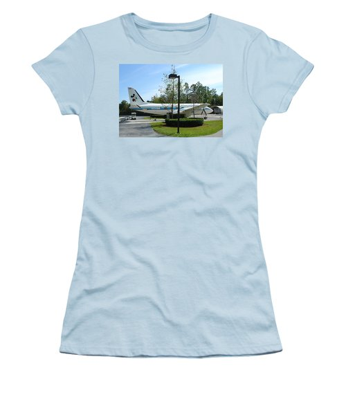 Women's T-Shirt (Junior Cut) featuring the photograph The Mouse by David Nicholls