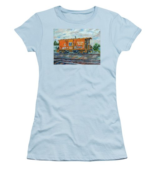The Old Caboose Women's T-Shirt (Athletic Fit)