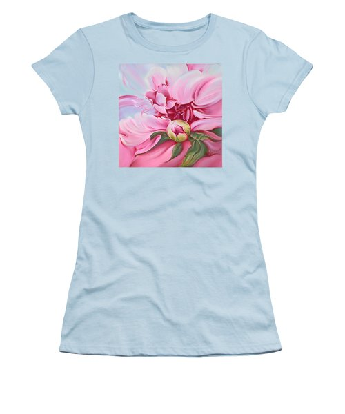 The Peony Women's T-Shirt (Athletic Fit)