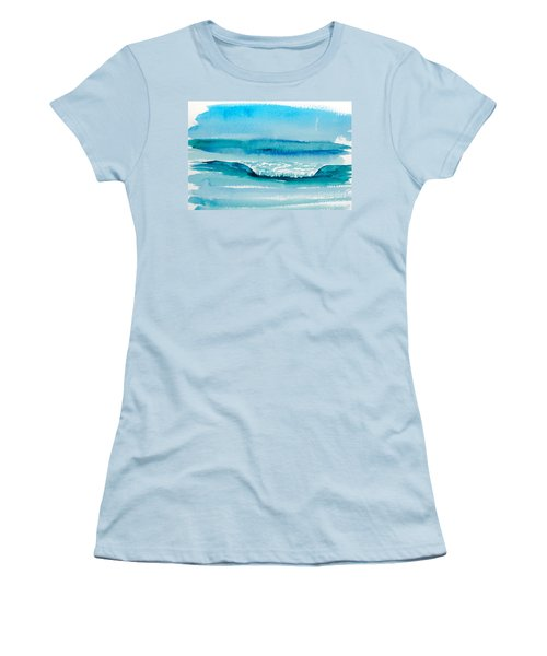 The Perfect Wave Women's T-Shirt (Athletic Fit)