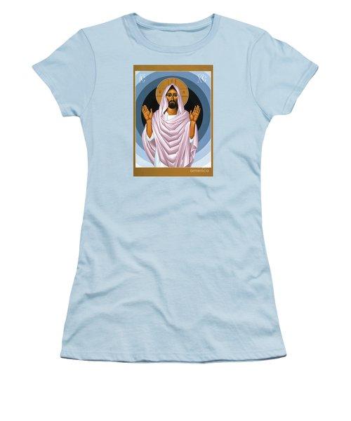 The Risen Christ 014 Women's T-Shirt (Athletic Fit)