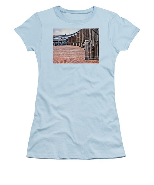 The Roundhouse Women's T-Shirt (Junior Cut) by Keith Armstrong