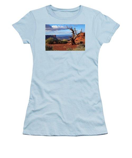 The Watchman Women's T-Shirt (Junior Cut) by Jim Garrison