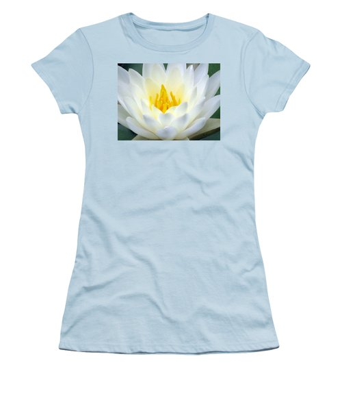 Women's T-Shirt (Junior Cut) featuring the photograph The Water Lilies Collection - 05 by Pamela Critchlow