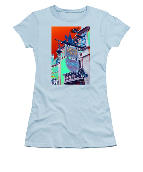 Women's T-Shirt (Junior Cut) featuring the photograph The Wine Cellar II by Robert Meanor
