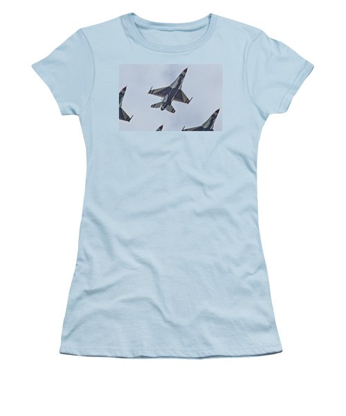 Go Go Thunderbirds Women's T-Shirt (Athletic Fit)
