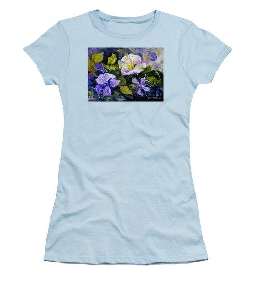 Tibouchina Women's T-Shirt (Athletic Fit)