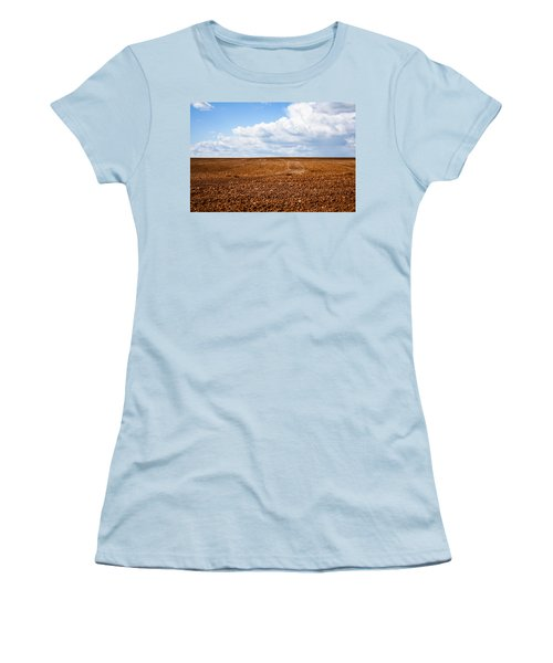 Tilled Earth Women's T-Shirt (Athletic Fit)