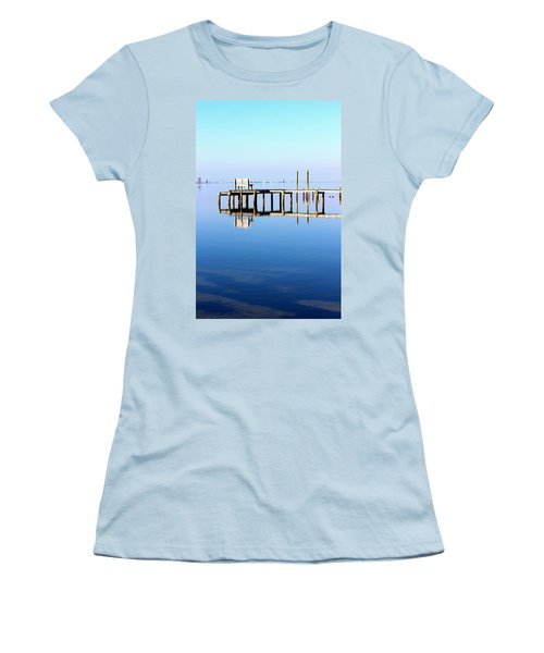 Time To Reflect Women's T-Shirt (Junior Cut) by Faith Williams