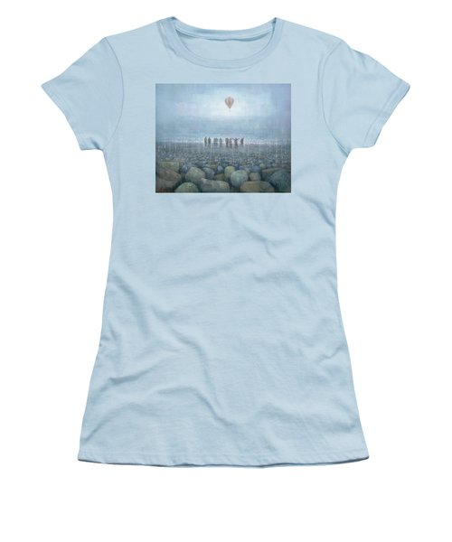 To The Mountains Of The Moon Women's T-Shirt (Junior Cut) by Steve Mitchell