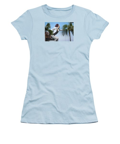 Touching The Canopy.  Women's T-Shirt (Athletic Fit)