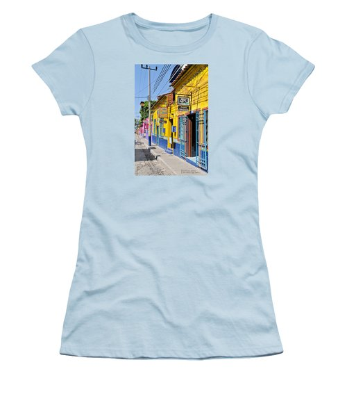 Tourist Shops - Mexico Women's T-Shirt (Junior Cut) by David Perry Lawrence