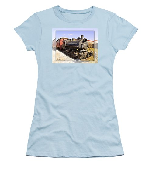 Train Women's T-Shirt (Athletic Fit)
