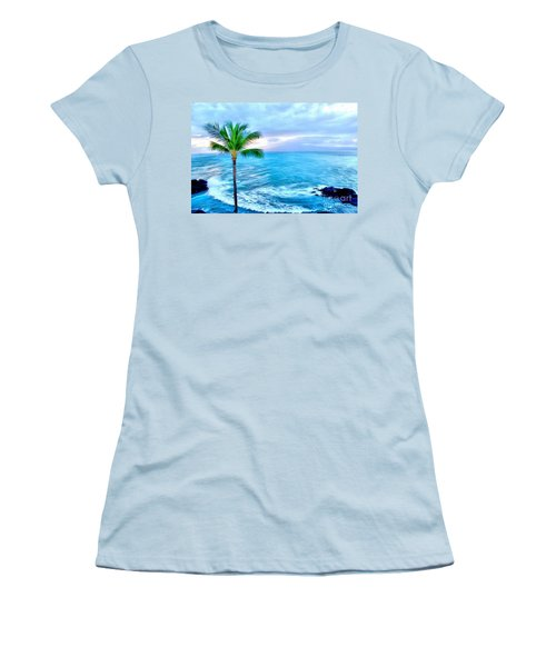 Tranquil Escape Women's T-Shirt (Athletic Fit)