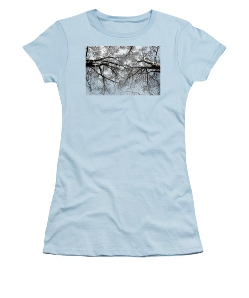 Trees  1 Women's T-Shirt (Junior Cut) by Minnie Lippiatt