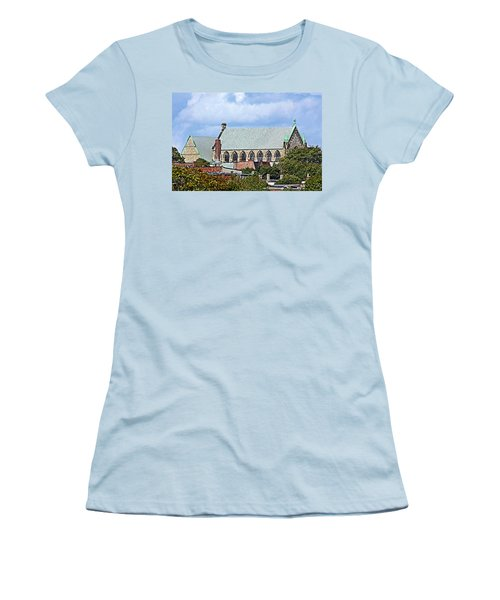 Trinity Church Women's T-Shirt (Junior Cut) by Kristin Elmquist