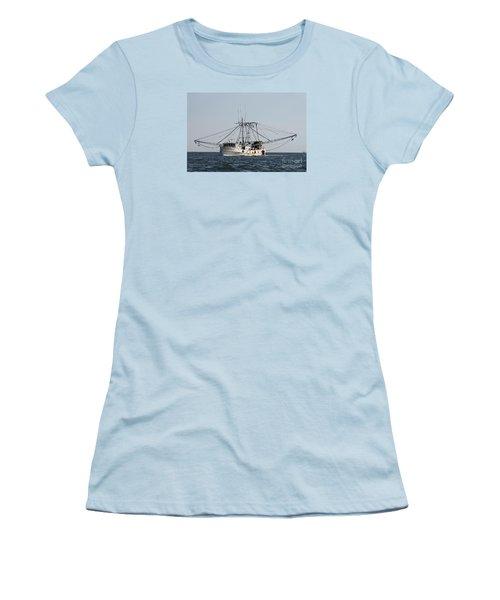 Troller To Port Women's T-Shirt (Junior Cut) by John Telfer