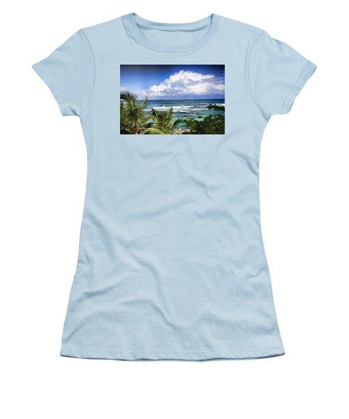 Tropical Dreams Women's T-Shirt (Athletic Fit)
