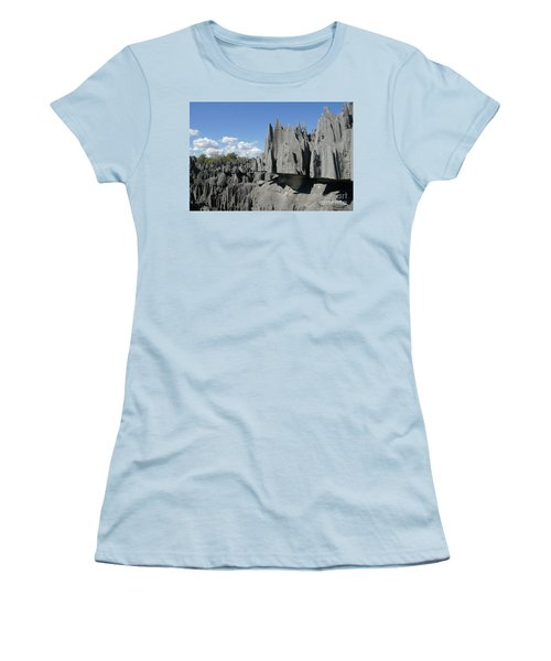 Tsingy De Bemaraha Madagascar 2 Women's T-Shirt (Athletic Fit)
