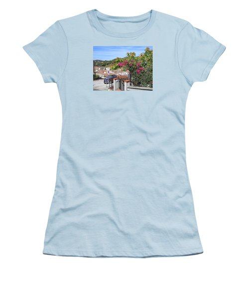Tuscany Hills Women's T-Shirt (Junior Cut) by Ramona Matei