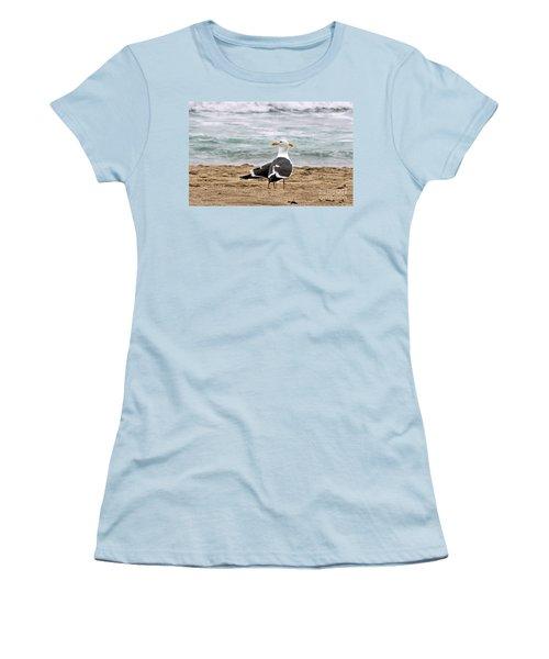 Twin Beaks Women's T-Shirt (Junior Cut) by Susan Wiedmann