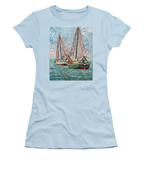 Twin Boats Women's T-Shirt (Athletic Fit)