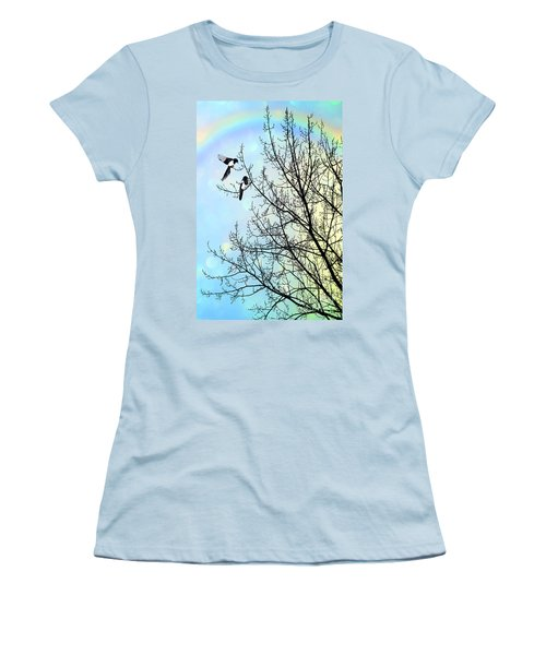 Two For Joy Women's T-Shirt (Athletic Fit)