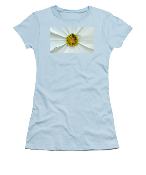 Up Close With The Bee And The Cosmo Women's T-Shirt (Athletic Fit)