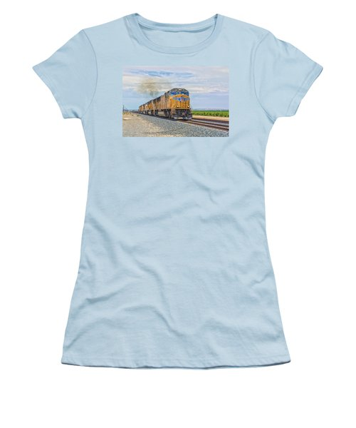 Up4421 Women's T-Shirt (Junior Cut) by Jim Thompson